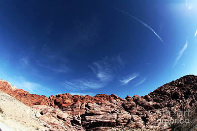 Photograph - Blue Sky In The Canyon by John Rizzuto