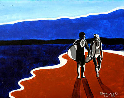 Painting - Blue Sky by Khryztof