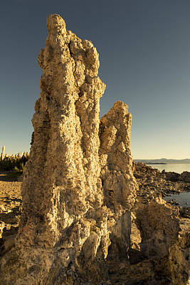 Photograph - Blue Sky Tufas by Bryant Coffey