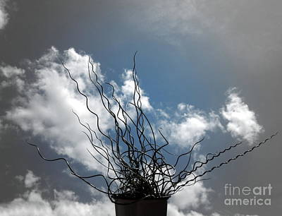 Photograph - Blue Sky With Shades Of Gray by Renee Trenholm