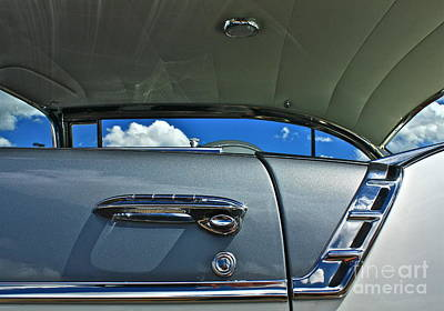 Art Print featuring the photograph 1956 Chevy Bel Air by Linda Bianic