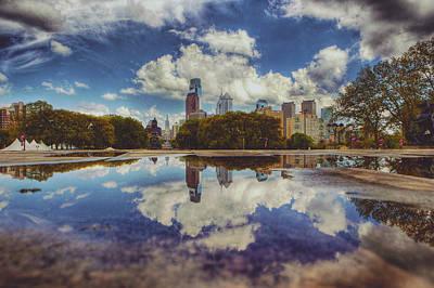 Rainy Day Photograph - Blue Skys  by Kenny  Noddin