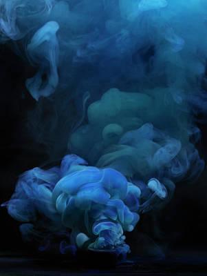Photograph - Blue Smoke by Henrik Sorensen