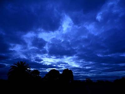 Photograph - Blue Storm Rising by Mark Blauhoefer