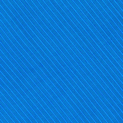 Blue Striped Diagonal Textile Background Art Print by Keith Webber Jr