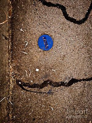 Photograph - Blue Sun by Fei Alexander