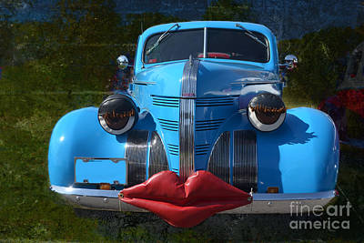 Photograph - Blue Sweetie by Luther Fine Art