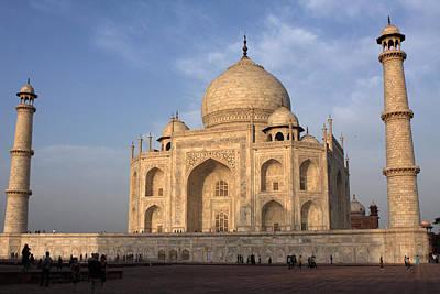 Photograph - Taj Mahal In Evening Light by Aidan Moran