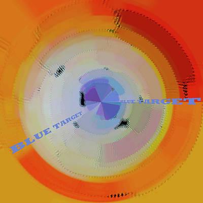 Revolutionary War Art - Blue Target by Ben and Raisa Gertsberg