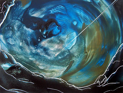 Painting - Blue Topaz by Jason Girard