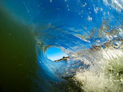 David Alexander Photograph - Blue Tube by David Alexander