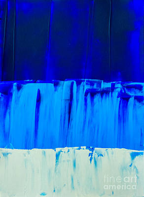 Painting - Blue Up by Ken Frischkorn
