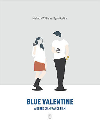 Michelle Digital Art - Blue Valentine by Smile In The  Mind