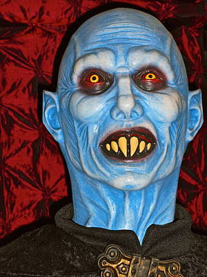 Photograph - Blue Vampire by Joan Reese