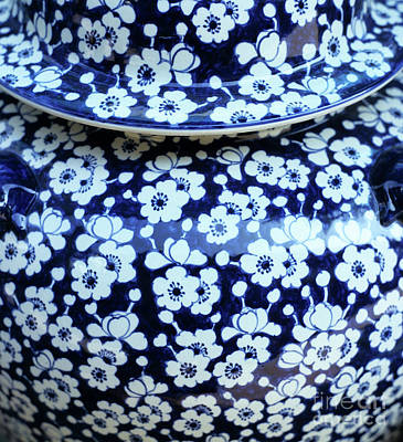 Photograph - Blue Vase by Rick Piper Photography