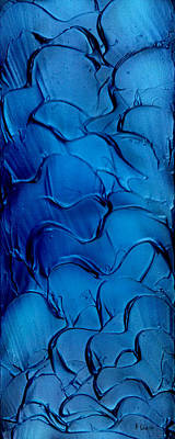 Painting - Blue Velvet. by Kenneth Clarke
