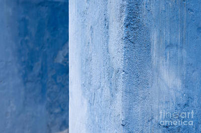 Photograph - Blue Wall 01 by Rick Piper Photography