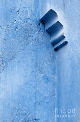 Photograph - Blue Wall 02 by Rick Piper Photography