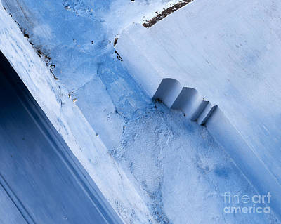 Photograph - Blue Wall 03 by Rick Piper Photography