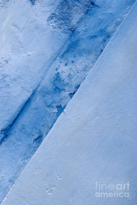 Photograph - Blue Wall 04 by Rick Piper Photography