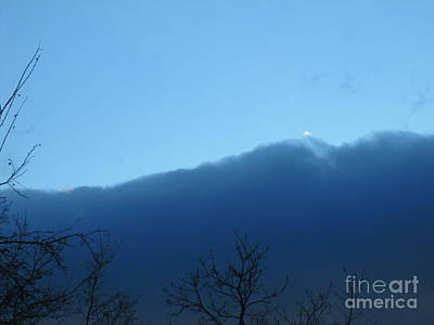 Photograph - Blue Wall Clouds 1  by Tara  Shalton