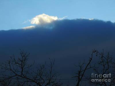 Photograph - Blue Wall Clouds 2 by Tara  Shalton