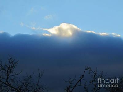 Photograph - Blue Wall Clouds 3 by Tara  Shalton