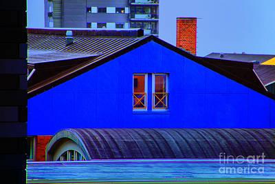 Photograph - Blue Wall by Rick Bragan