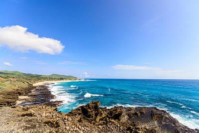 Photograph - Blue Water Beach by Jason Chu