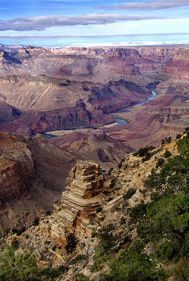 Blue Water In The Grand Canyon Art Print