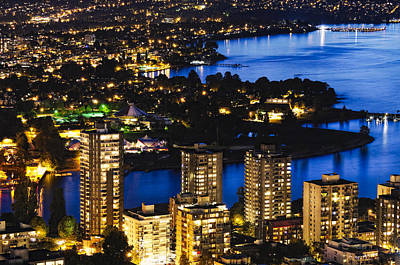 Photograph - Blue Water Kitsilano Mcdix by Amyn Nasser