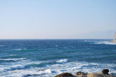 Photograph - Blue Waters 4 by George Katechis