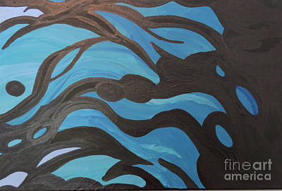Photograph - Blue Waves Of Healing by Mary Mikawoz