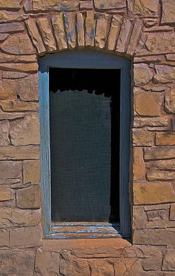 Photograph - Blue Window by Britt Runyon