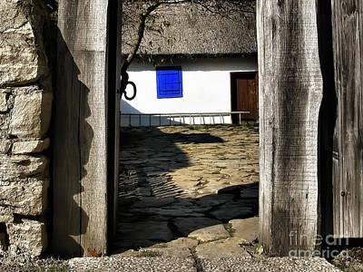 Photograph - Blue Window  by Daliana Pacuraru