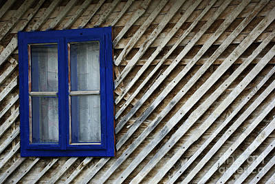 Blue Window Original by Zoran Berdjan