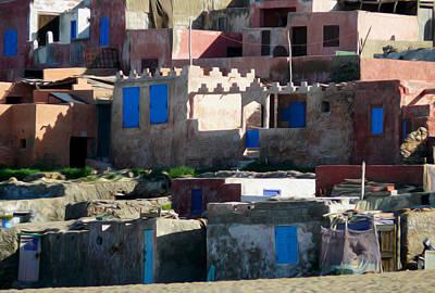 Agadir Photograph - Blue Windows by Tracy Winter