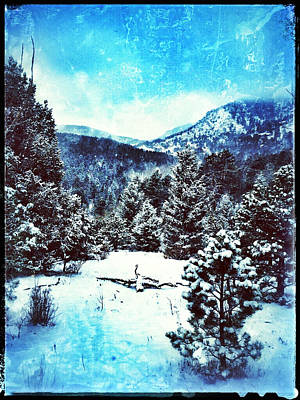 Digital Art - Blue Winter I by Dan Miller