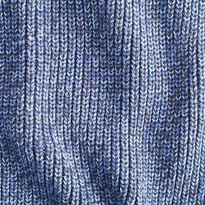 Blue Wool Art Print by Tom Gowanlock
