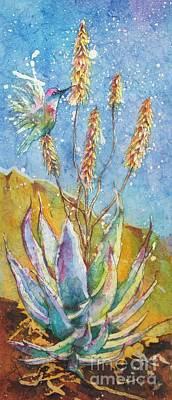 Blue Yucca Art Print