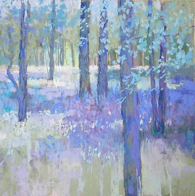 Painting - Bluebell Corner by Jackie Simmonds