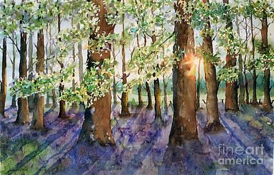 Painting - Bluebell Fields Forever by Marisa Gabetta