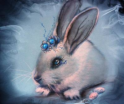 Bluebell Art Print by Sheena Pike