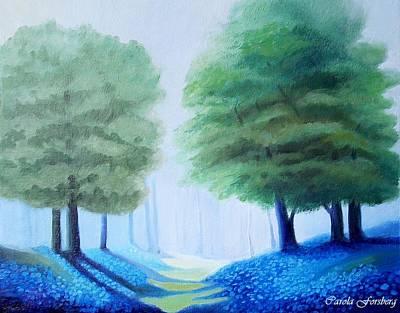 Painting - Bluebells by Carola Ann-Margret Forsberg