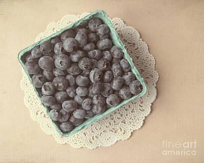 Blueberries Art Print by Jillian Audrey Photography