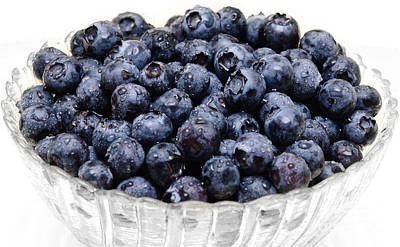 Photograph - Blueberry 2 by Andee Design