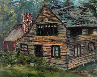 Painting - Blueberry Cottage At Twin Lake Village by Denny Morreale