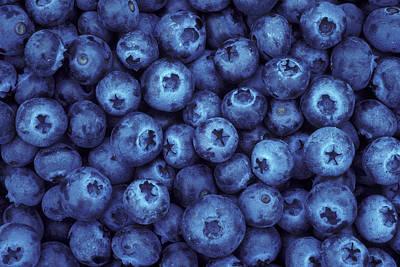 Blueberry Harvest Art Print by Greg Vaughn
