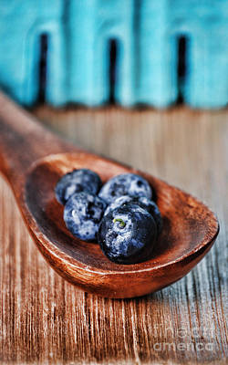 Blueberry Art Print by HD Connelly