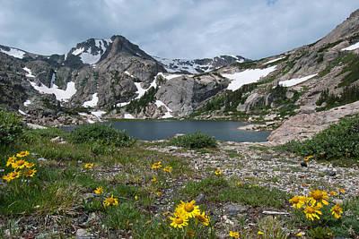 Photograph - Bluebird Lake - Colorado by Cascade Colors